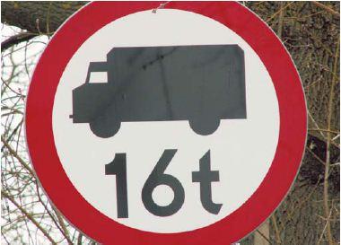 Zakaz ruchu pojazdów o dopuszczalnej masie całkowitej powyżej 16 t na terenie naszej gminy nie jest przeszkodą dla prowadzenia działalności gospodarczej przez przedsiębiorców