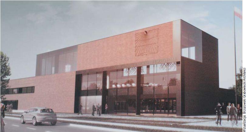 Projekt Nowego Ratusza w Konstancinie