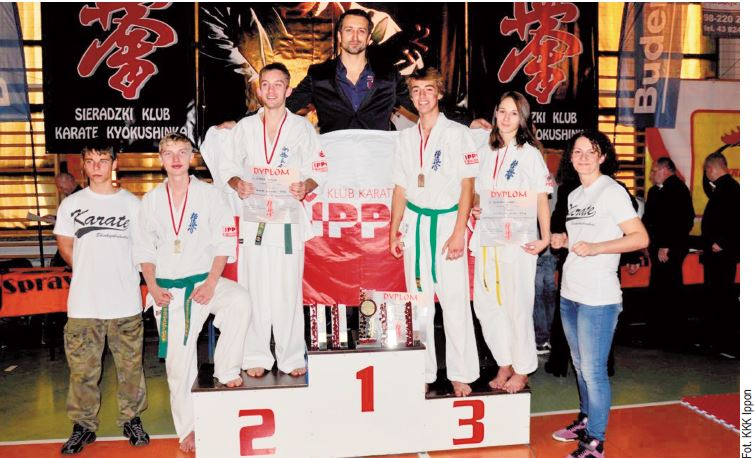 Klub Karate Kyokushin Ippon z Konstancina-Jeziorny