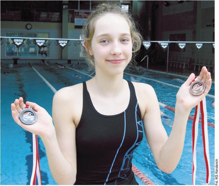 Michalina Pecyna, srebrna i brązowa medalistka Mistrzostw Polski