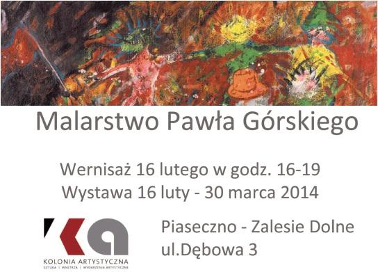 Malarstwo Pawła Górskiego