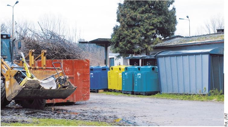 Składowisko odpadów - Konstancin
