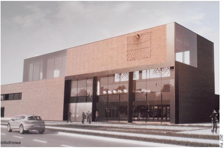 Projekt ratusza w Konstancinie