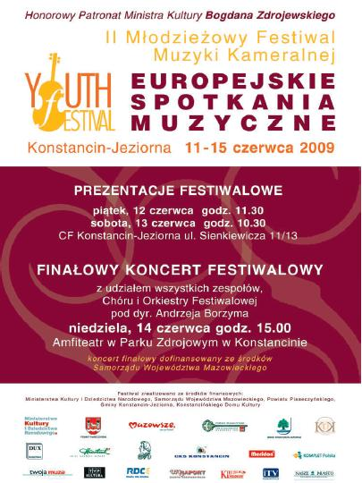 europejski spotkania muzyczne