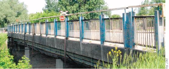 Konstanicn most nad Jeziorką